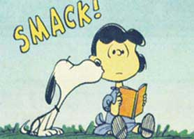 Snoopy Dog Kisses